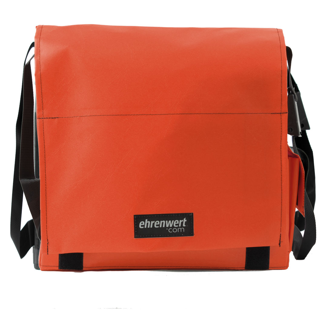 Ansicht Tasche Middle Format orange